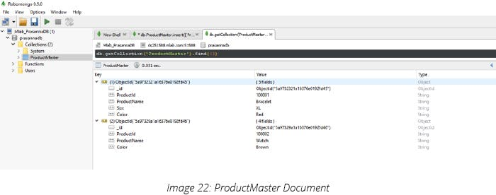 ProductMaster Document