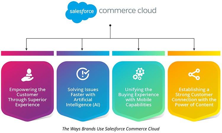The Ways Brands Use Salesforce Commerce Cloud