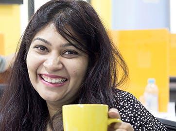 Chhavi Saxena with greytHR