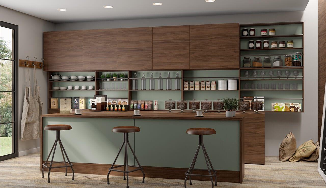 Café MDF Caribe e Alecrim