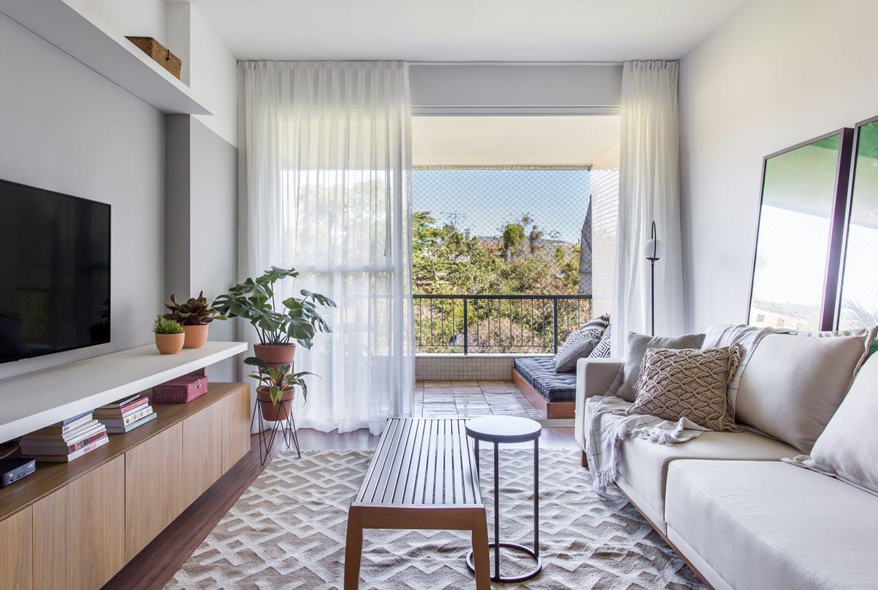 sala pequena apartamento