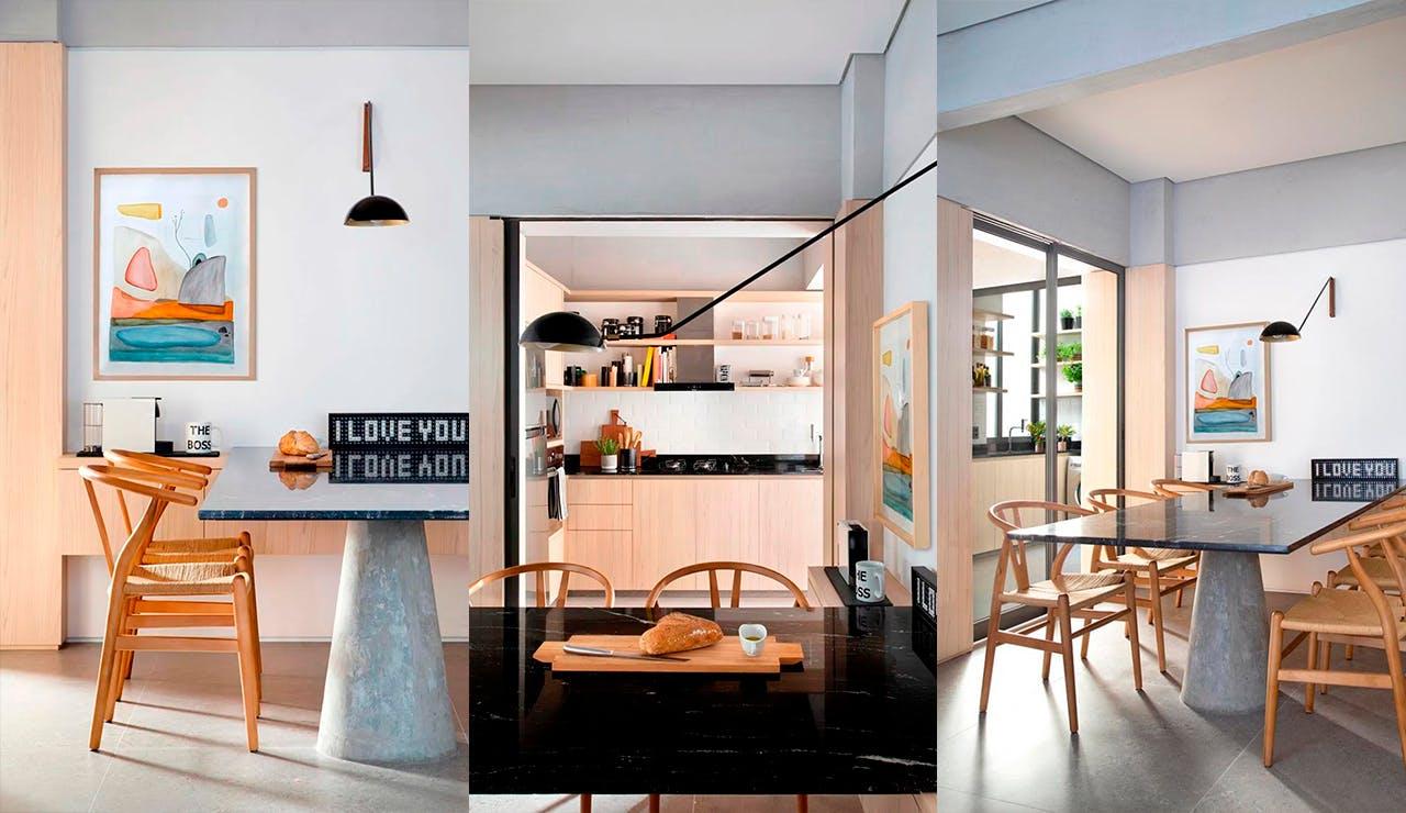 Apartamento KS   Hobjeto Arquitetura   Foto MCA Estúdio   MDF Bilbao Guararapes