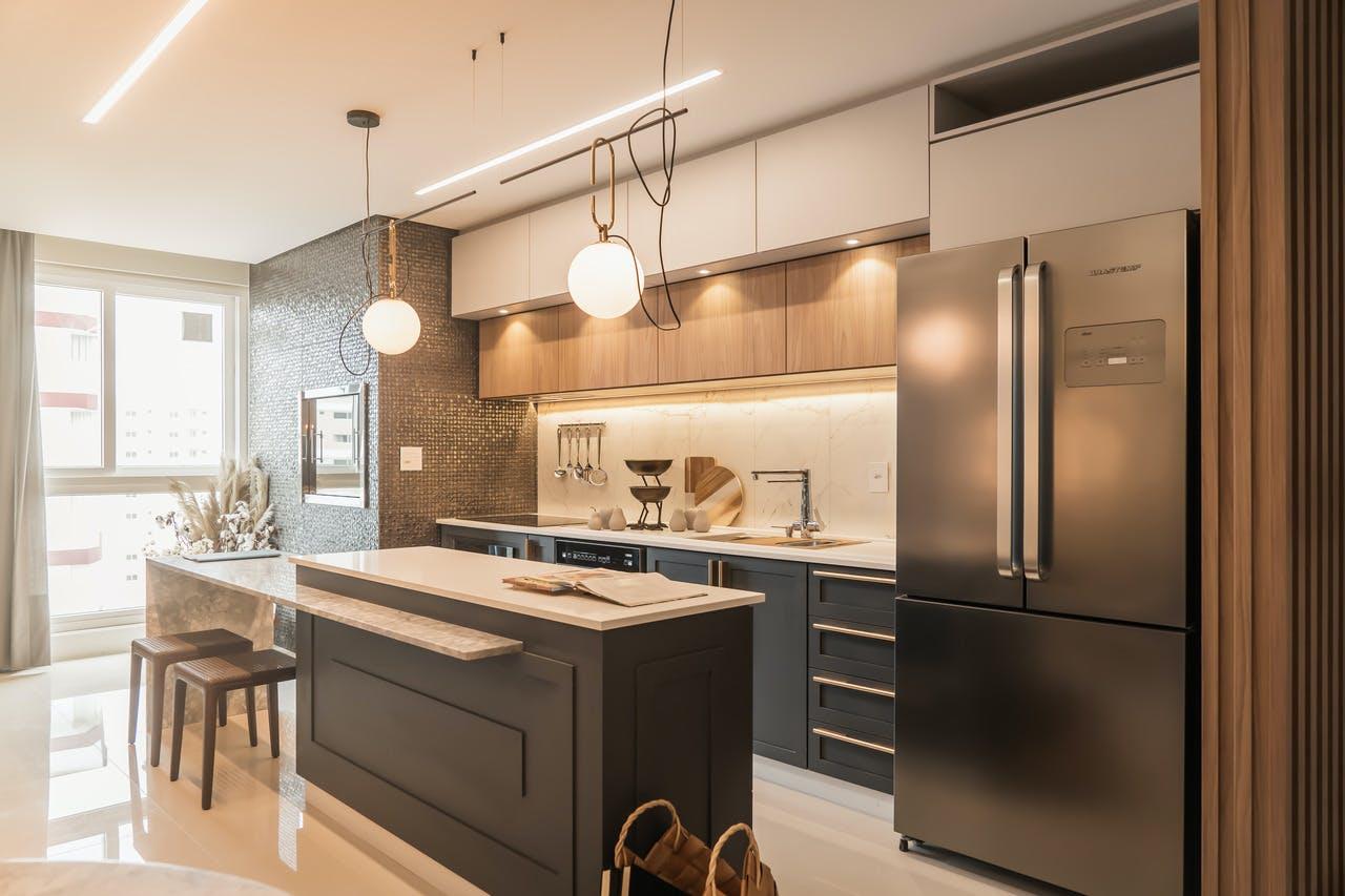 cozinha integrada contemporanea