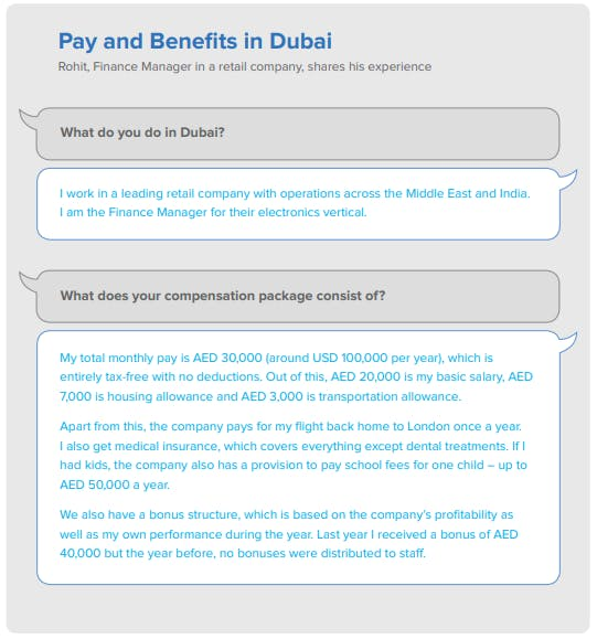 Pay and Benefits in Dubai