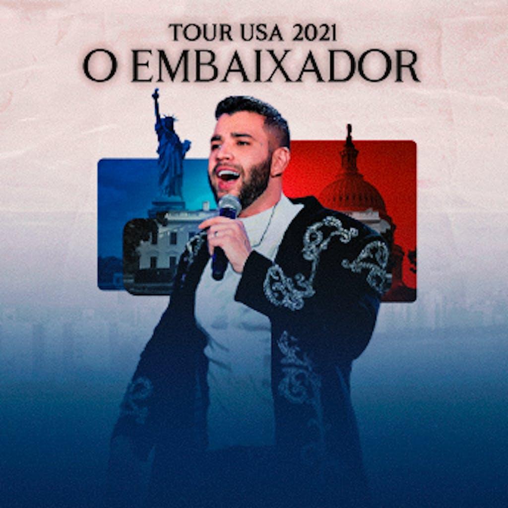 Tour do cantor sertanejo Gusttavo Lima nos Estados Unidos.