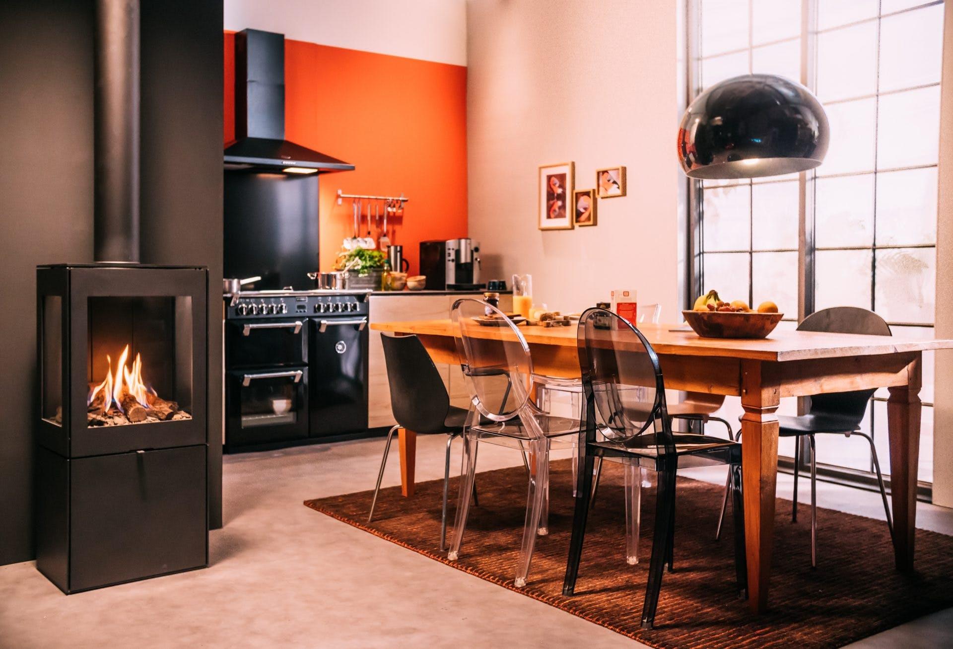 gashaard in keuken