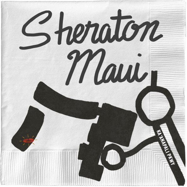 Map of Sheraton Maui location