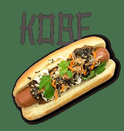 Kobe - SUNDAY Premium wagyu beef, hoisin-ginger glaze, sesame slaw, pickled daikon-carrot, furikake.