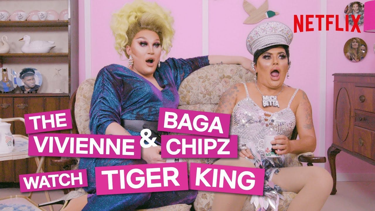 The Vivienne and Baga Chipz watch 'Tiger King' and it's delightfully good!