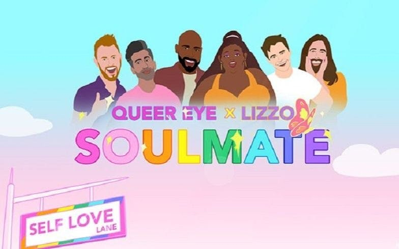 Lizzo teams up with the Queer Eye gang for 'Soulmate' clip