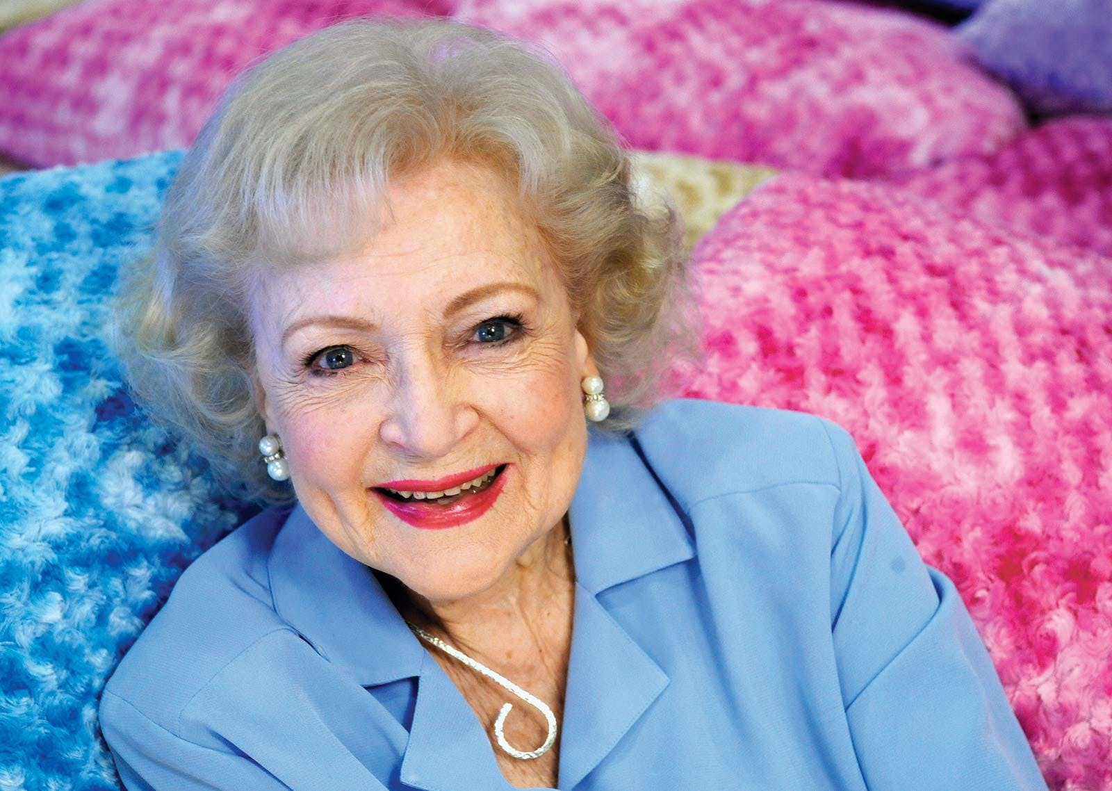 Our Golden Girl, Betty White is absolutely fine!