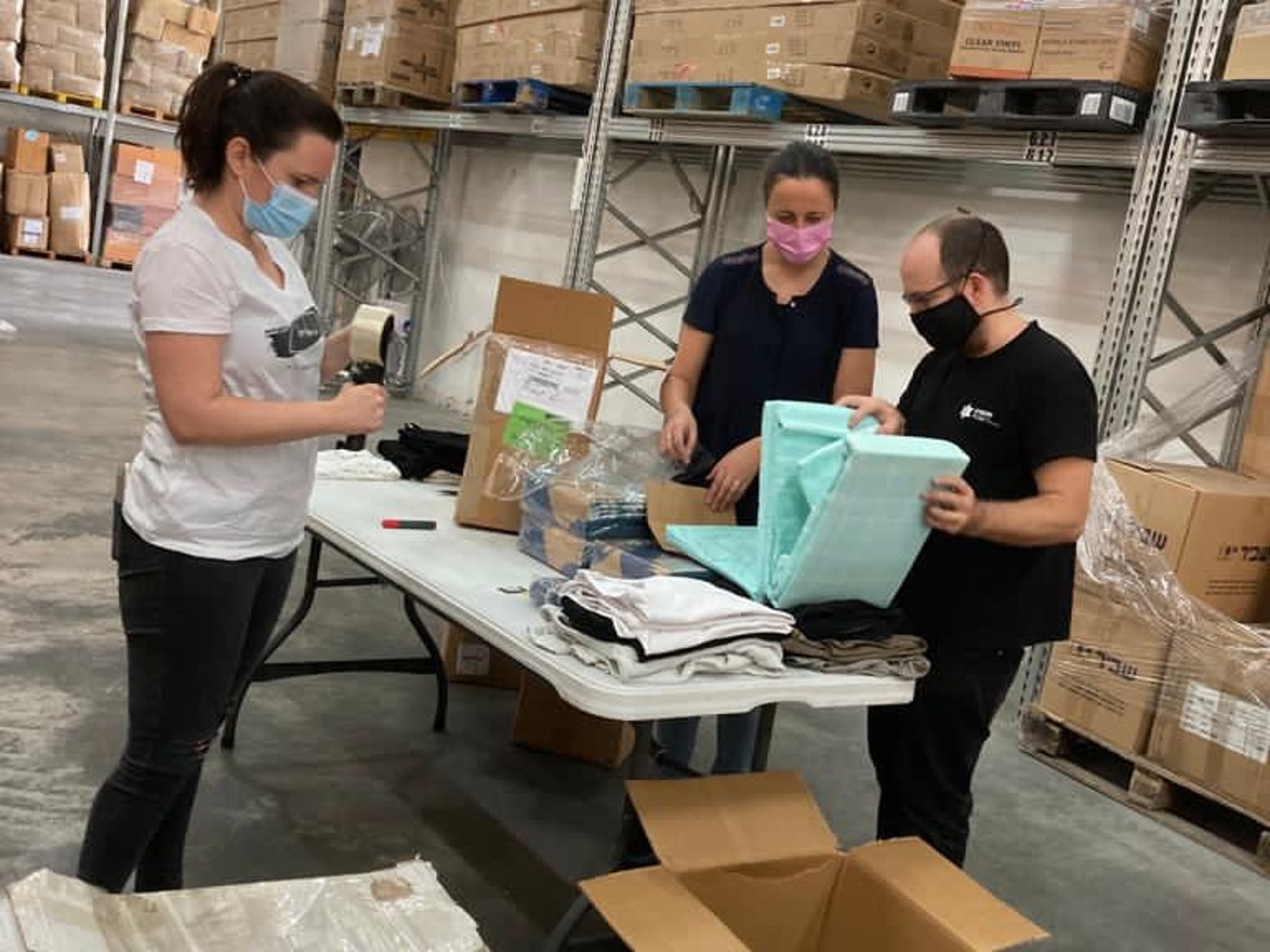 Volunteering in Joseph Project 2020