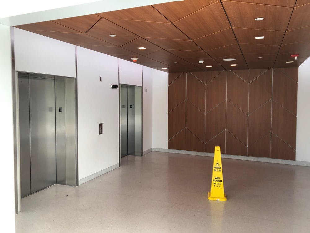 Elevator Lobby at Terminal 2