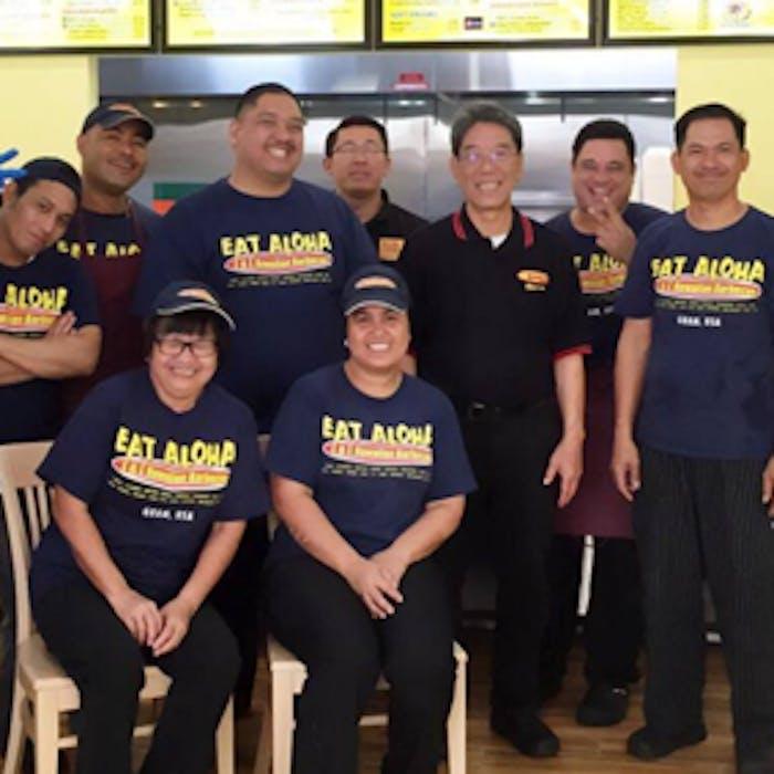 L&L team members with founder Eddie Flores.