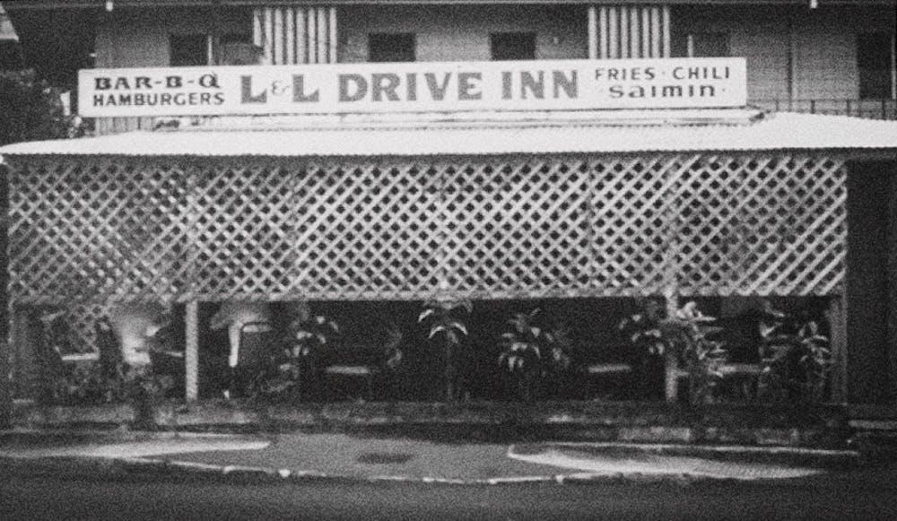 Historical image of L&L Liliha location