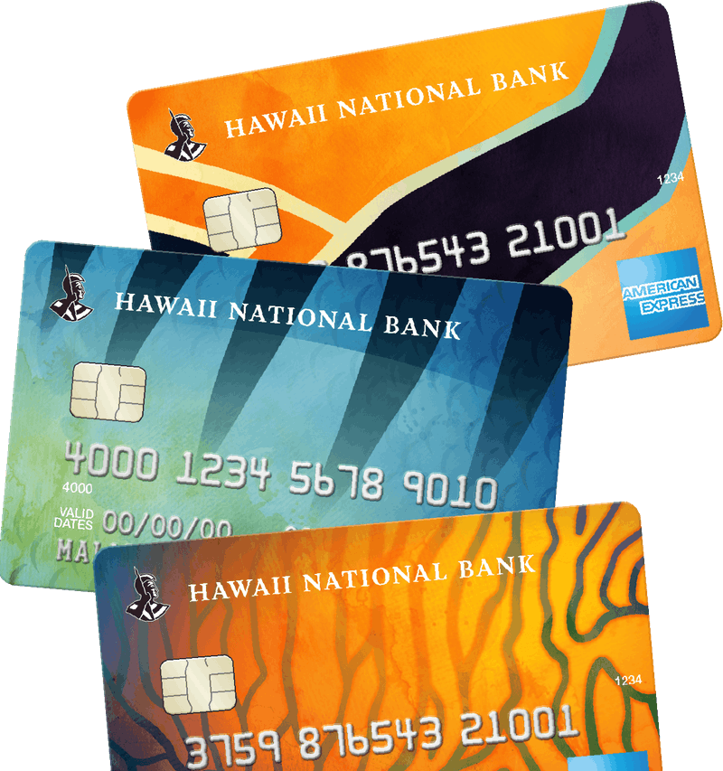 3 personal credit cards
