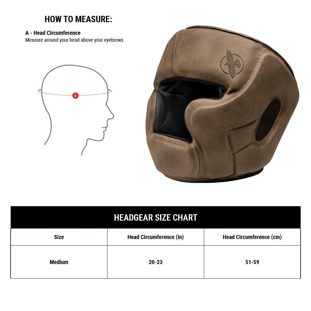 One Size Hayabusa T3 LX Headgear Brown