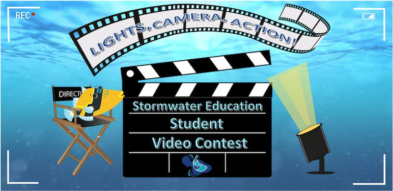 Stormwater Education Student Video Content banner.