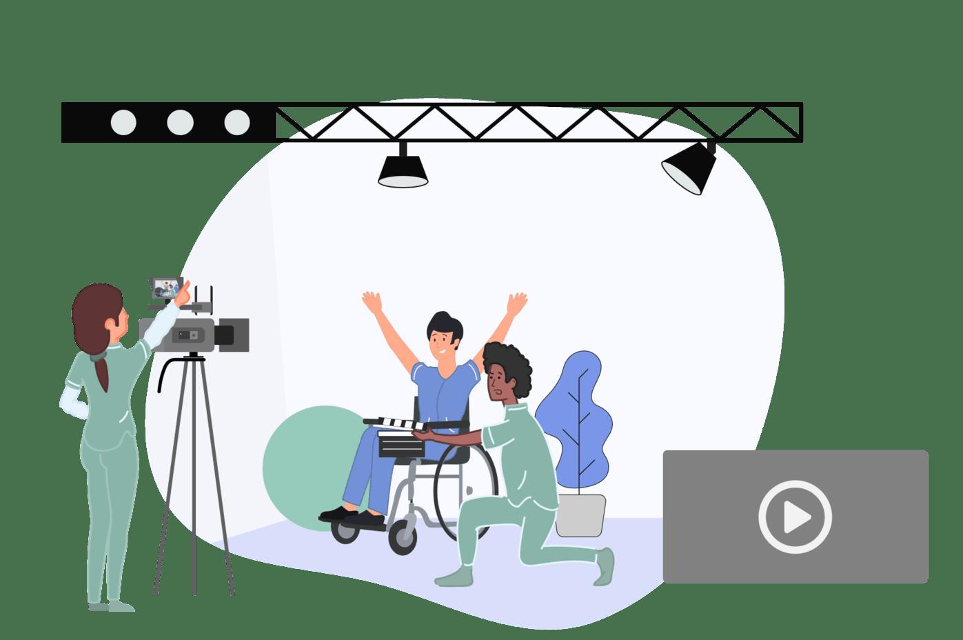 Te creamos una biblioteca de videos de ejercicios personalizados