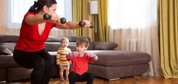At-Home Workouts for the Win