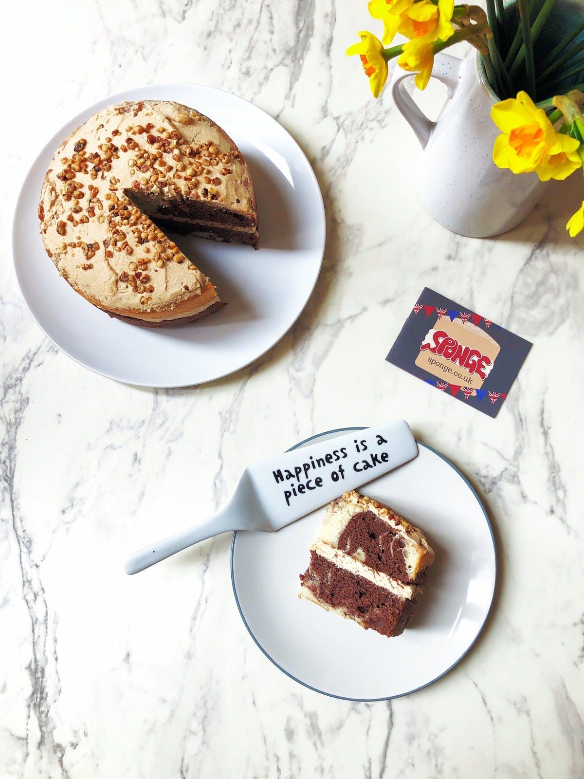 Gluten Free Hazelnut Praline SPONGE CAKE + A GIVEAWAY!!!