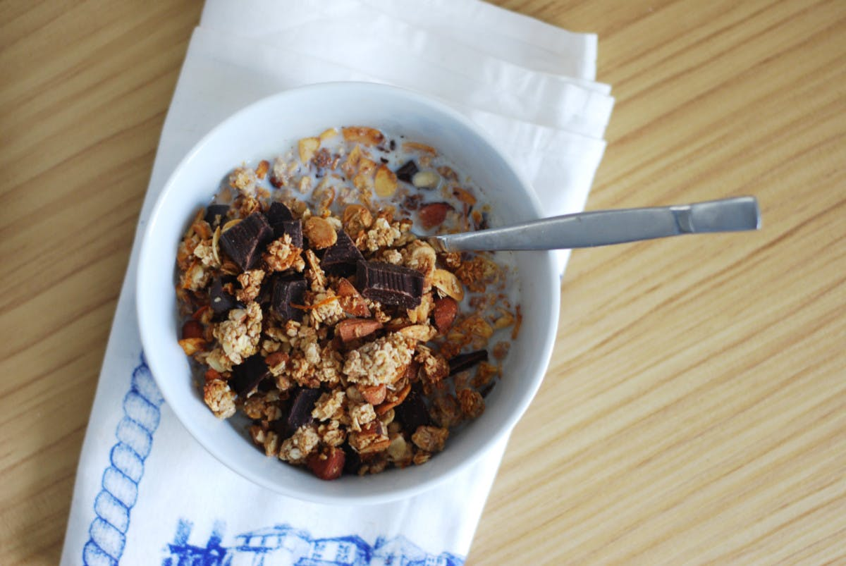 Spiced Chocolate Orange Granola