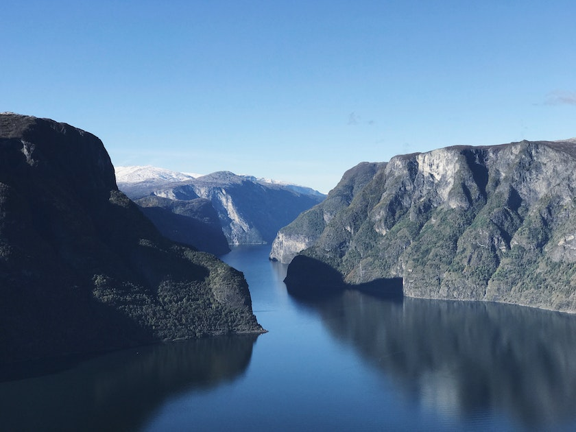 Stunning view from Sogn og Fjordane, Norway. Photo by Robert Bye on Unsplash