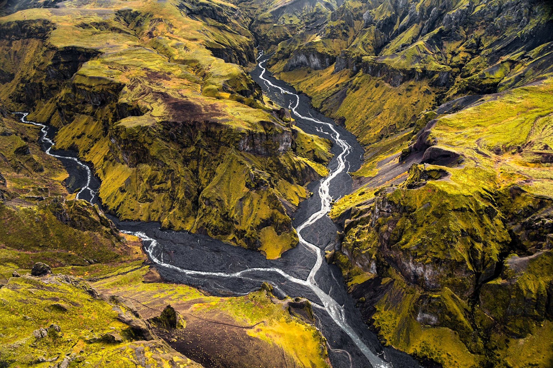 Landscape photograph of Iceland's nature by Jeroen