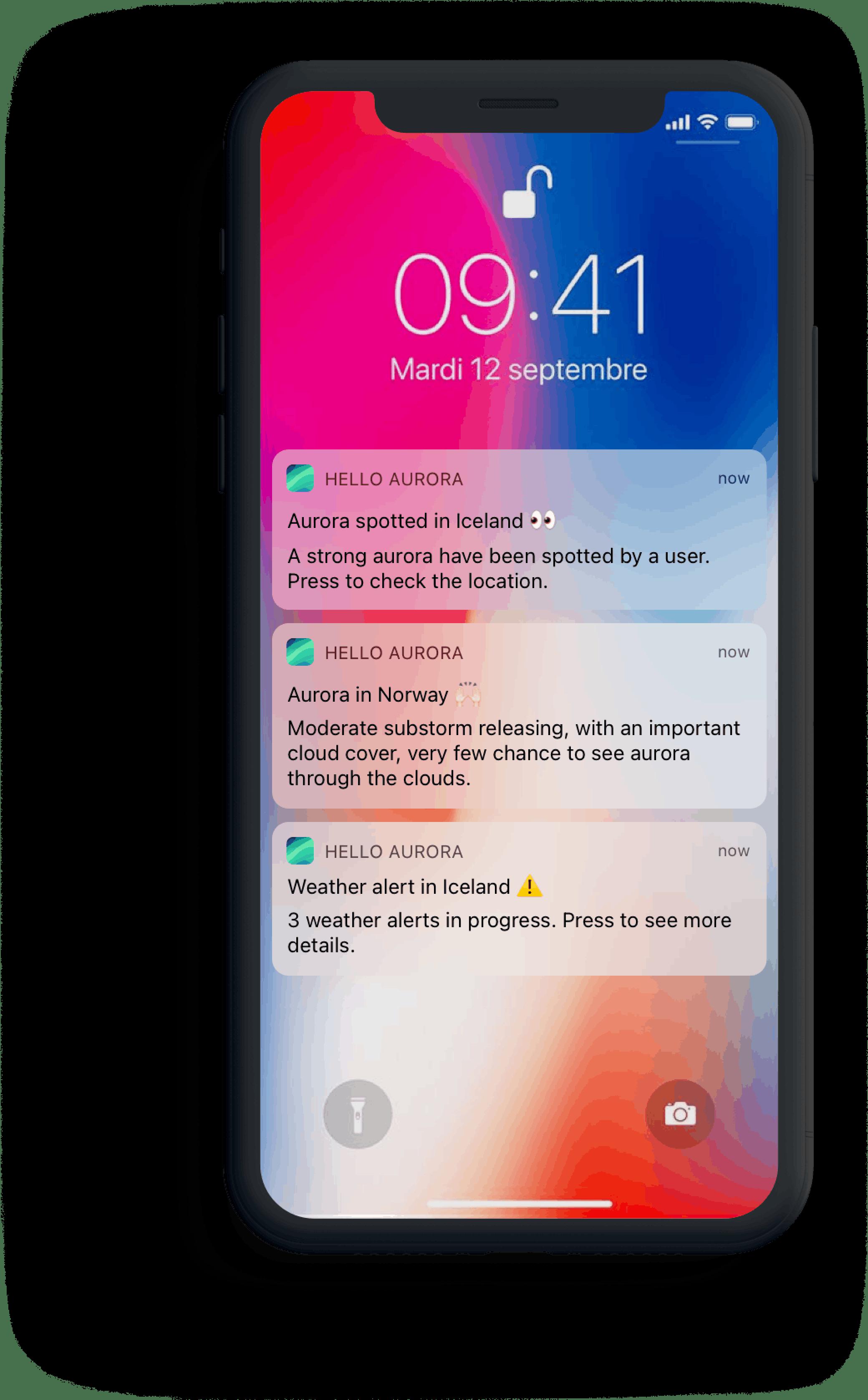Handy notifications alert