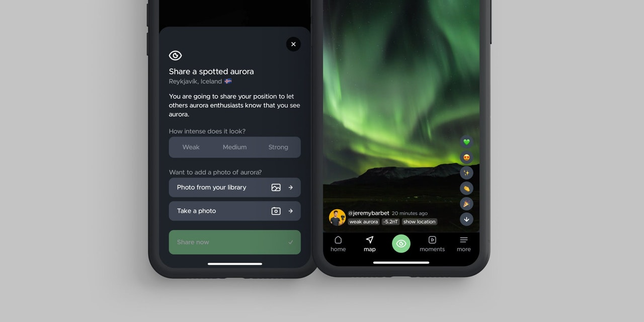 How to use hello aurora & connect with Northern Lights lovers's cover picture