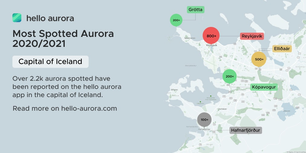 Top Northern Lights Location in the Capital of Iceland's cover picture