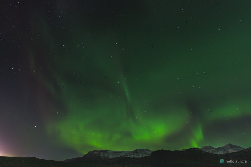 Northern Lights comes with patience, make sure you dress warm for it