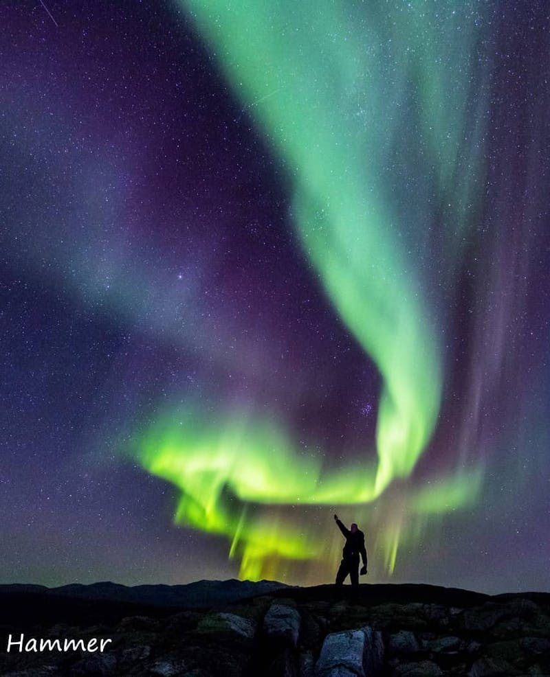 Interview with a Photographer Geir Lia Hammer | Aurora in Tromsø