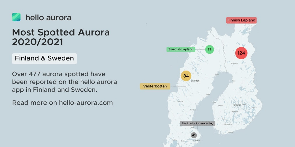 Northern Lights Locations in Finland and Sweden's cover picture