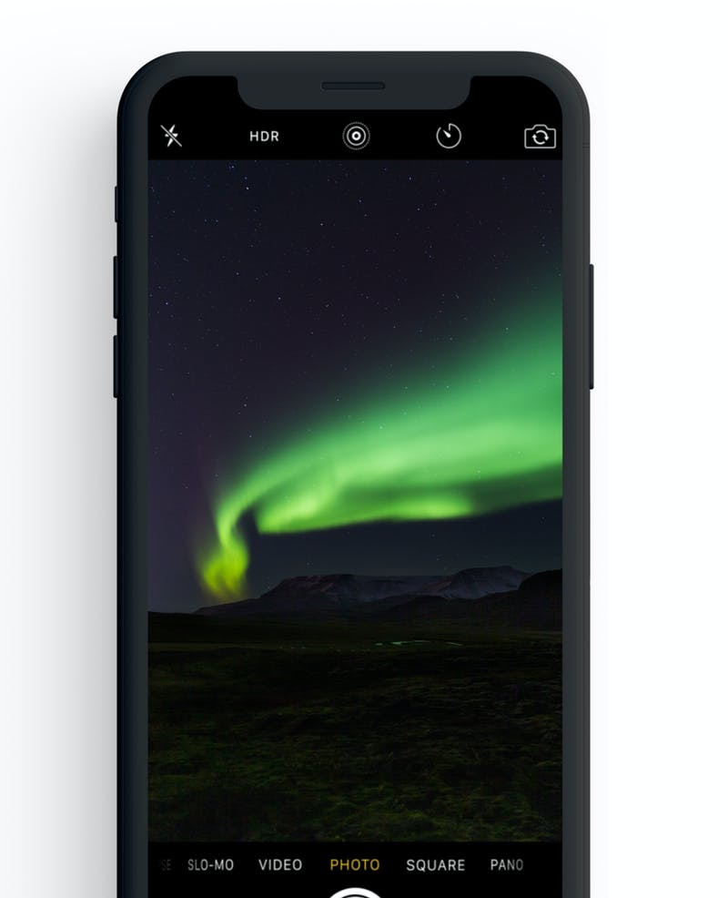 How to Take Picture of Aurora With Smartphone