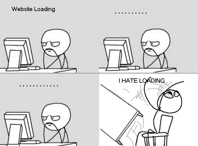 Who likes slow loading page