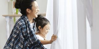 Curtain Wash ‧ Kick OFF Dust