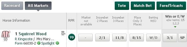 betting insurebet 3 places of interest