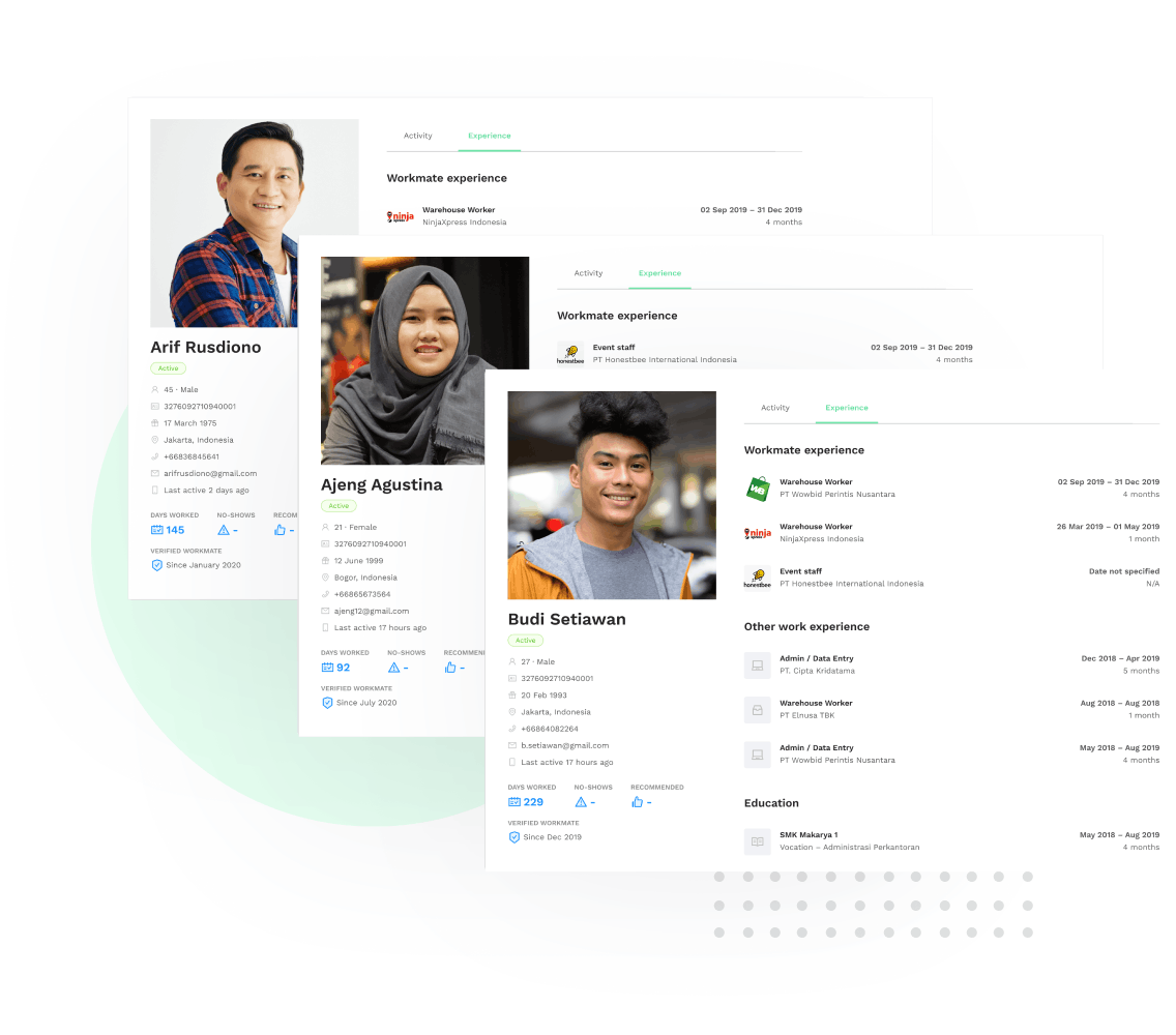 Recruitment Worker Network