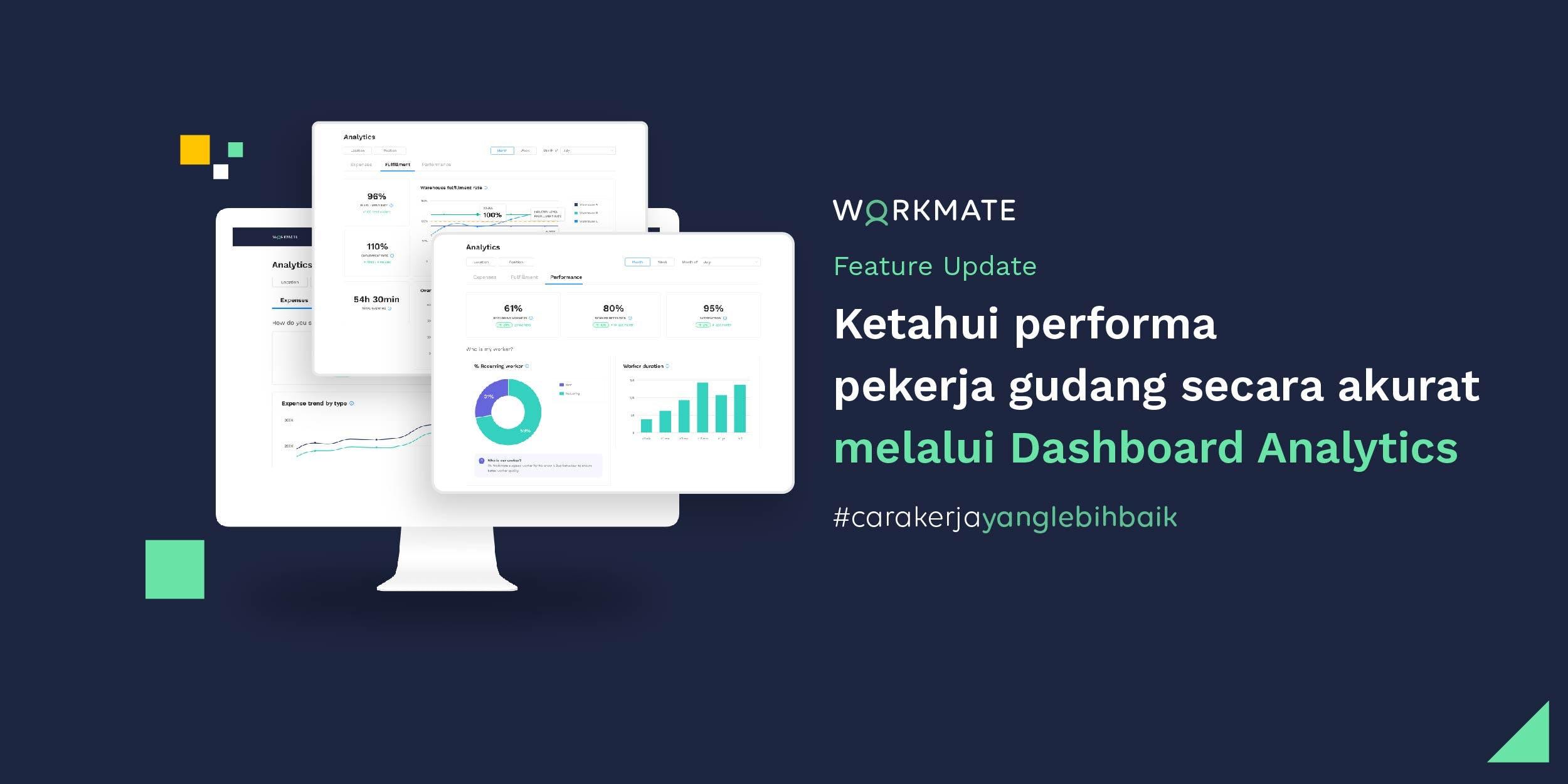 Workmate Updates: Dashboard Analytics untuk Performa ...