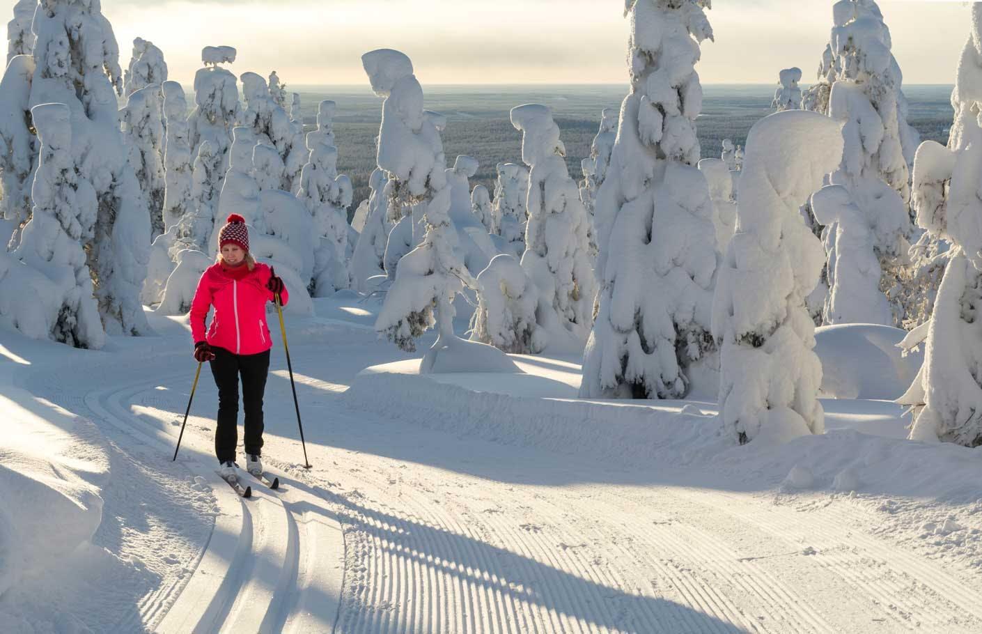 Skifahren lernen Skilanglauf