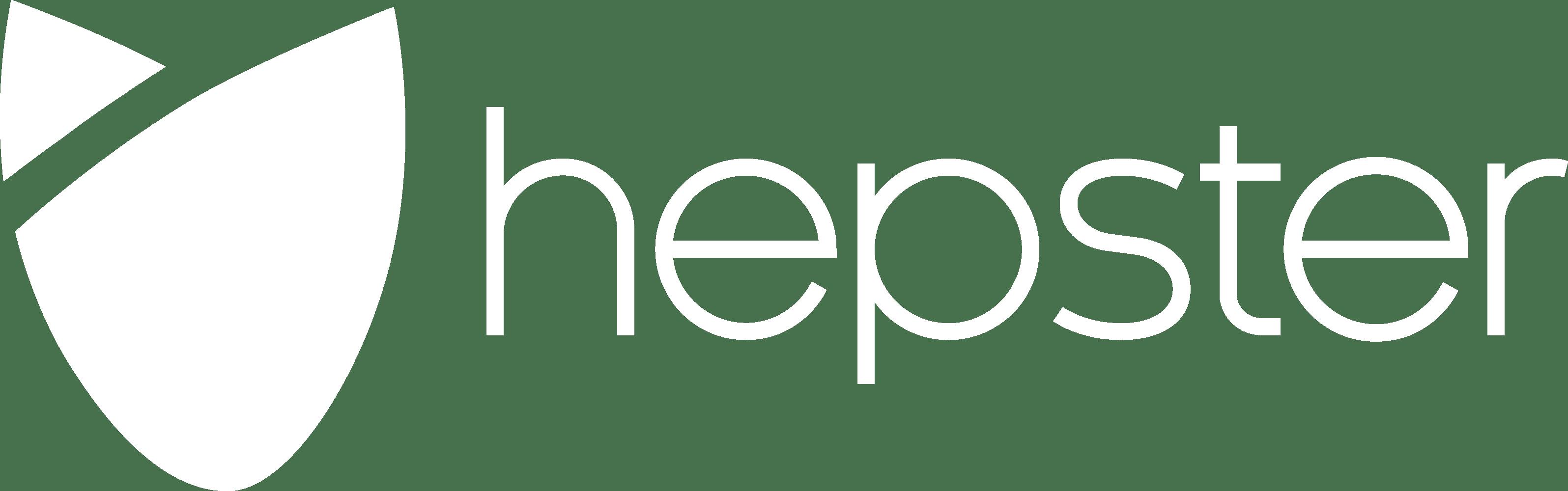 Logo hepster weiß