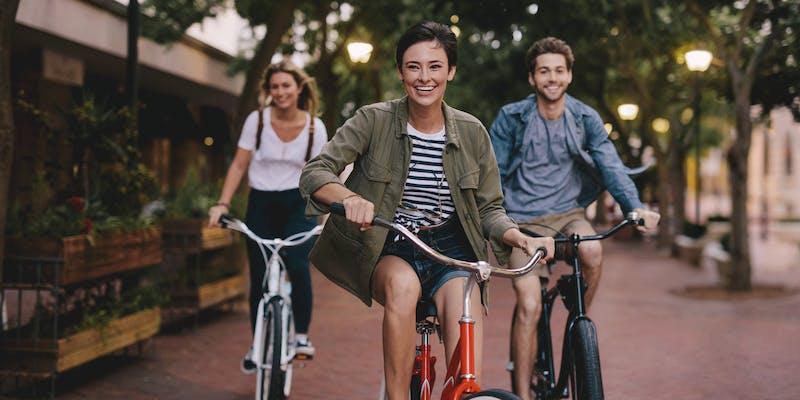 unbeschwert Fahrrad fahren - mit mehr Sicherheit