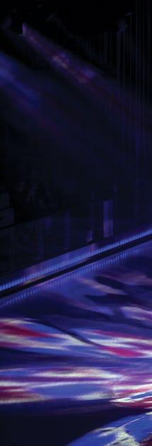 I teatern Studio B visas isshower, inte sällan med tidigare OS-deltagare i rollbesättningen