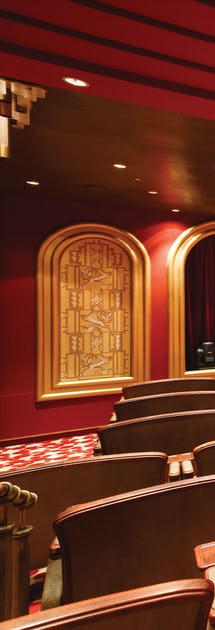 Enjoy concerts and shows in the Venetian Lounge