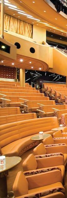 Teatern i väntan på en Las Vegas-inspirerad show