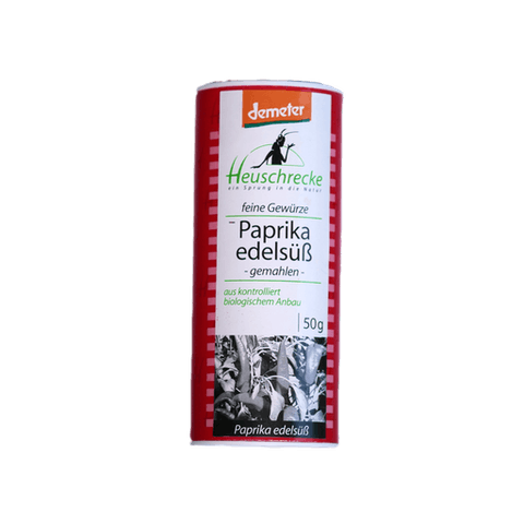 Paprika edelsüß, Verpackung