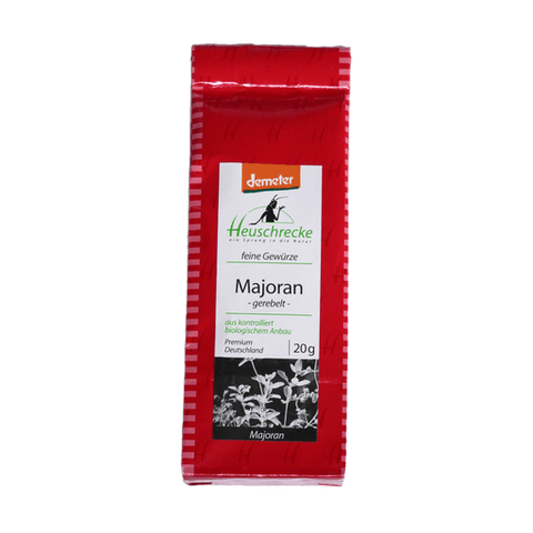 Majoran, Verpackung