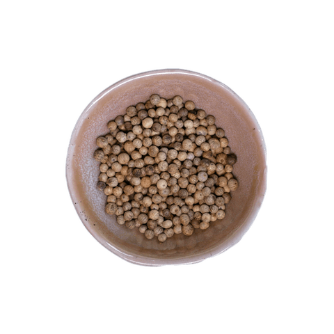 Kampotpfeffer, weiß, Produktfoto