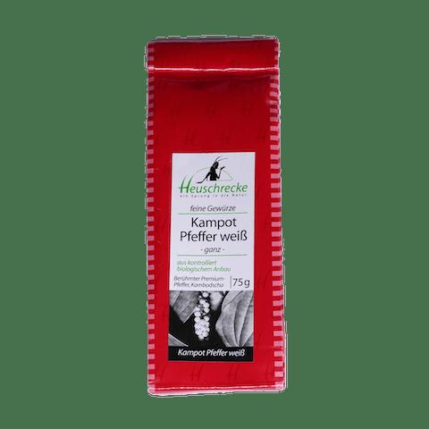 Kampotpfeffer, weiß, Verpackung